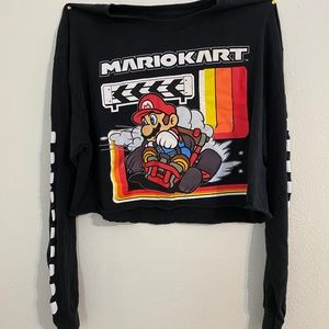 Forever 21 Mario Kart T-Shirt (cropped)